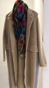 Ble Strip Coat